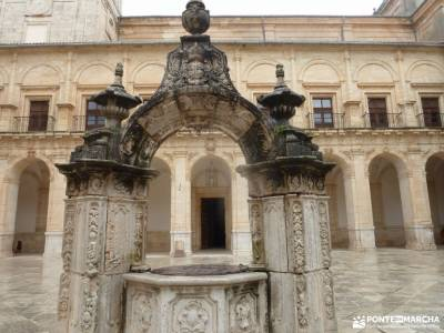 Parque Arqueológico Segóbriga-Monasterio Uclés;turismo en la sierra de madrid imagenes lagunas de